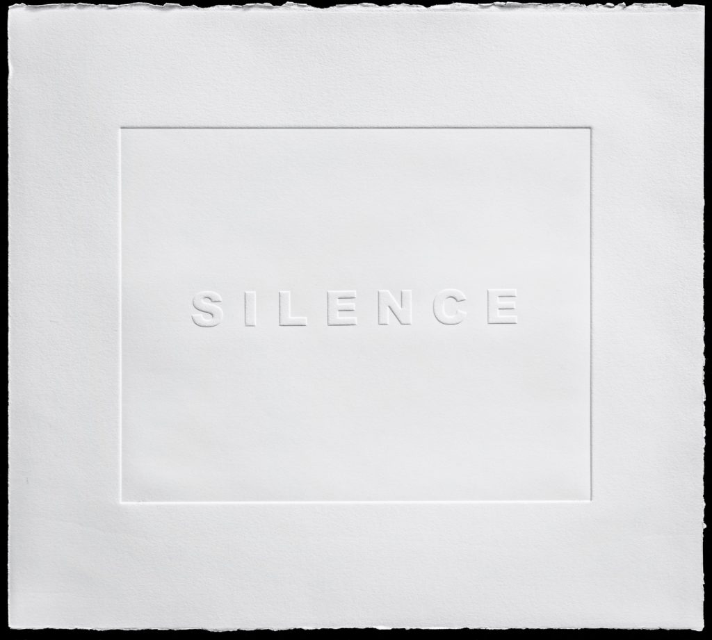 Embossed Silence